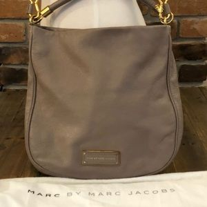 Marc by Marc Jacobs Storm Cloud New Q Hillier Hobo